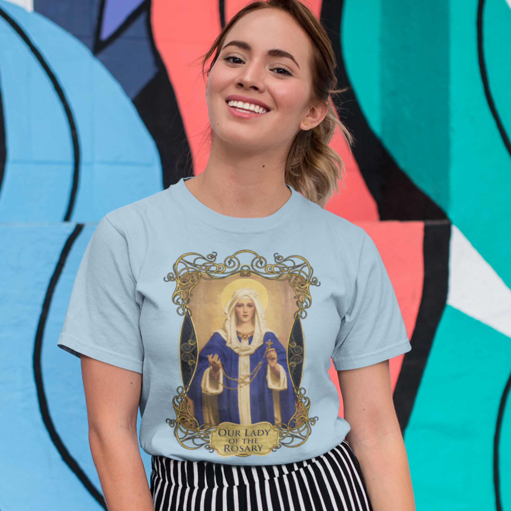 Our Lady of the Rosary T-Shirt